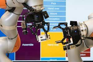 Bras robotiques permettant la FAO