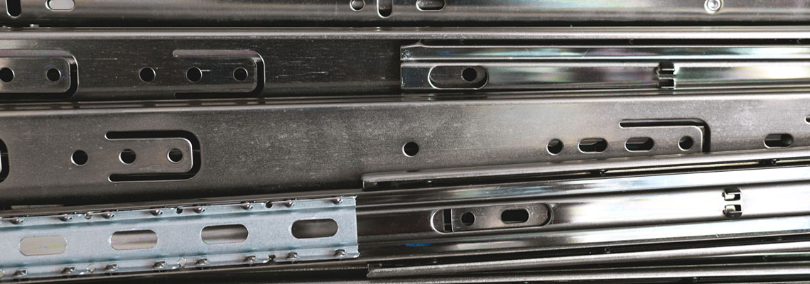 glissière tiroir