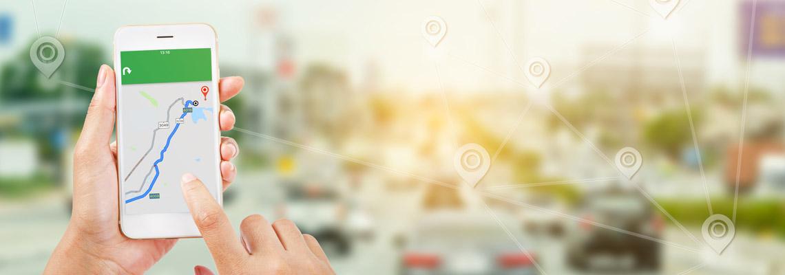 géolocalisation de voiture d'entreprise