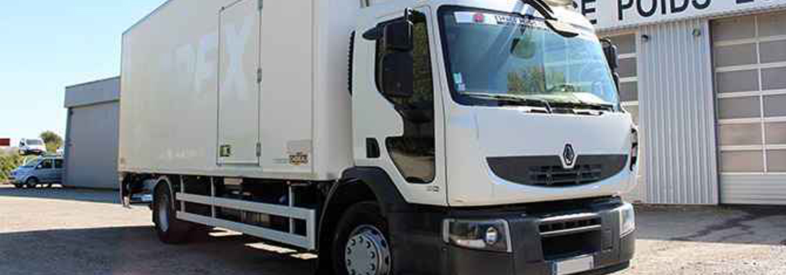 location camion frigorifique